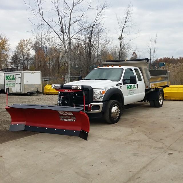 Schill snow plow