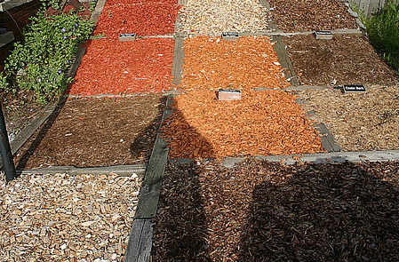 there are many types of mulch for commercial landscapes