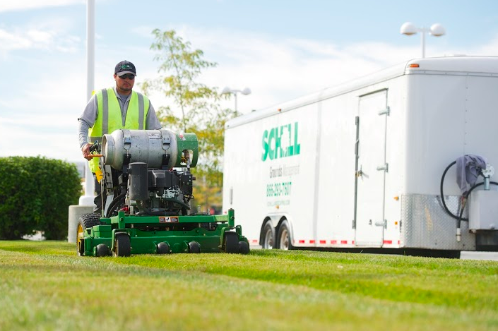 today's commercial landscape contractors should implement sustainable landscaping methods