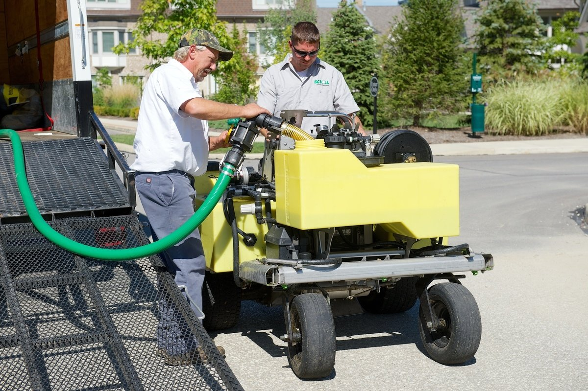 Holganix organic fertilizer is a green option for commercial lawn care customers