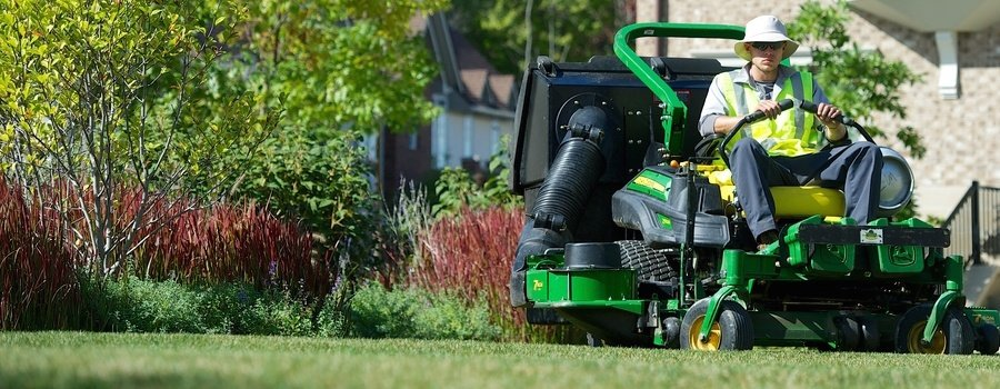 Schill Grounds Management has the mowers and other equipment to really make the turf look like a golf course