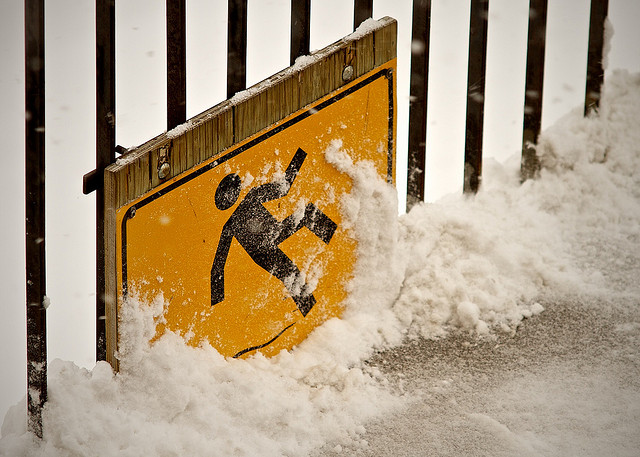 your snow contractor should develop a winter storm plan that addresses unsafe areas on your commercial property