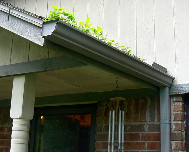 gutter cleanout is one stormwater management solution