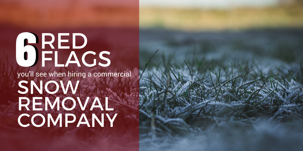 6 Red Flags When Hiring A Commercial Snow Removal Company In Cleveland