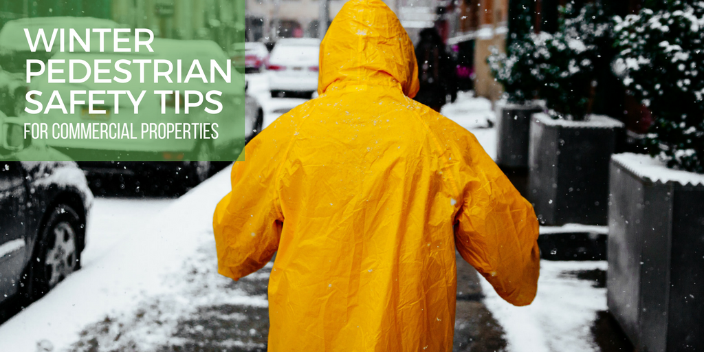 Winter pedestrian safety tips for commercial properties