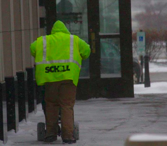 small snow removal crews dedicate time and attention to the properties they serve