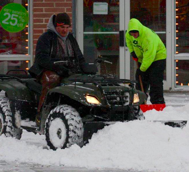 are you hiring a reputable Cleveland snow removal company?