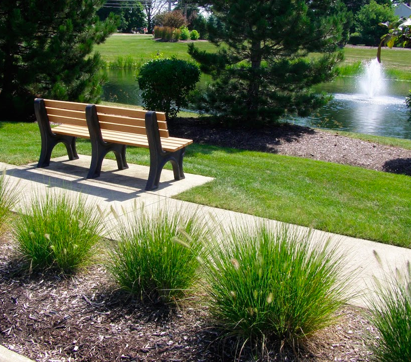 St. Mary of the Woods requires a landscape that's manicured and inviting for tenants and their guests.