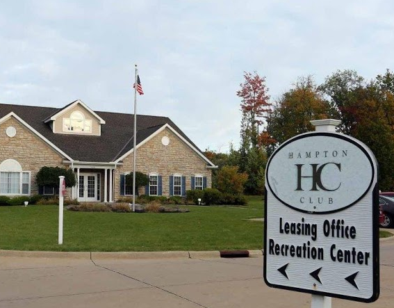 Hampton Club apartments leasing office in North Royalton Ohio — Gross Builders