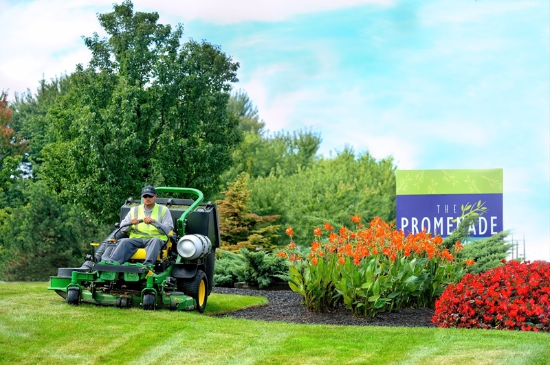 Commercial Landscaping Services for Shopping Centers Cleveland