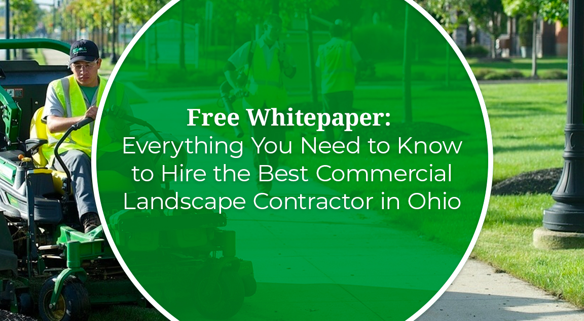 Free WHITEPAPER: Everything You Need To Know To Hire The Best Commercial Landscape Contractor In Ohio