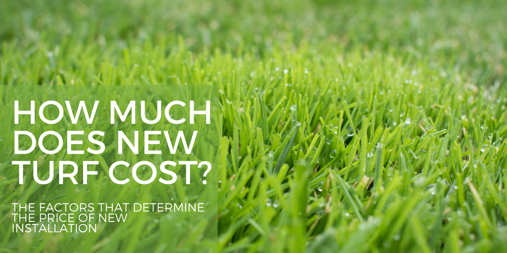 how much does new turf cost