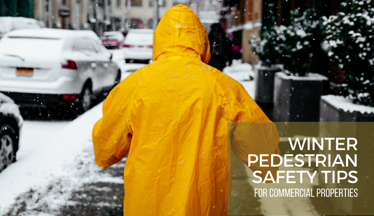 Pedestrian Winter Safety Tips