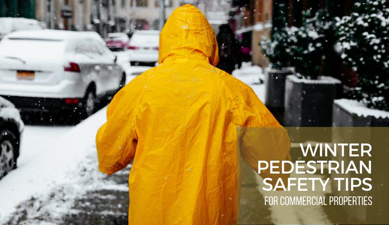 Pedestrian Winter Safety Tips