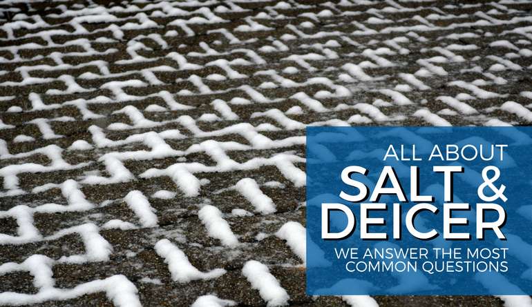 Salt and deicer questions