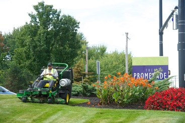 Schill Landscaping at commercial property