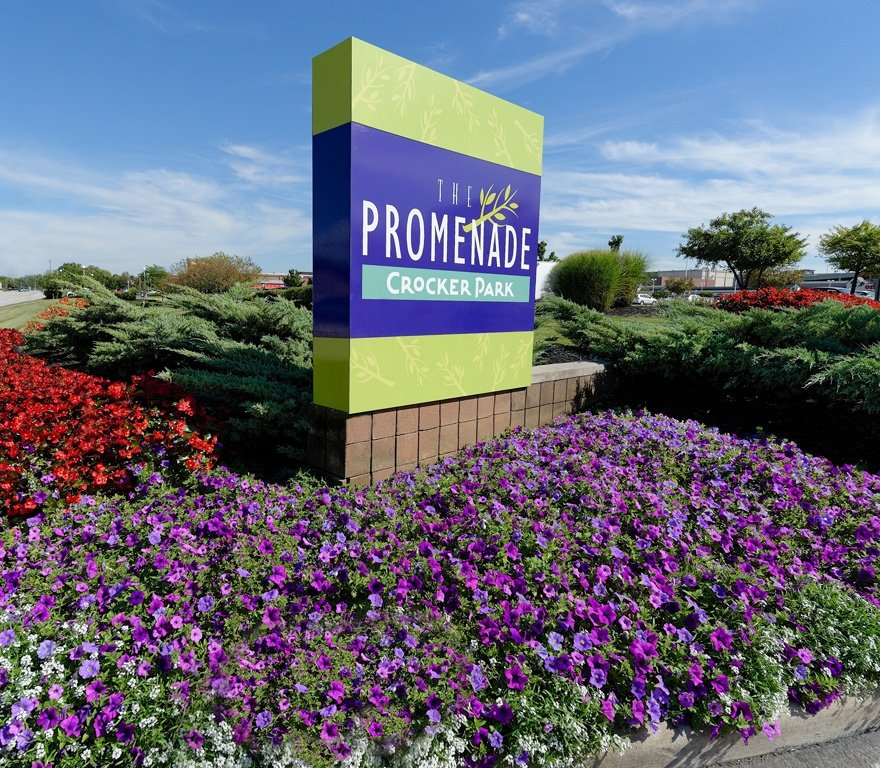 Promenade Sign