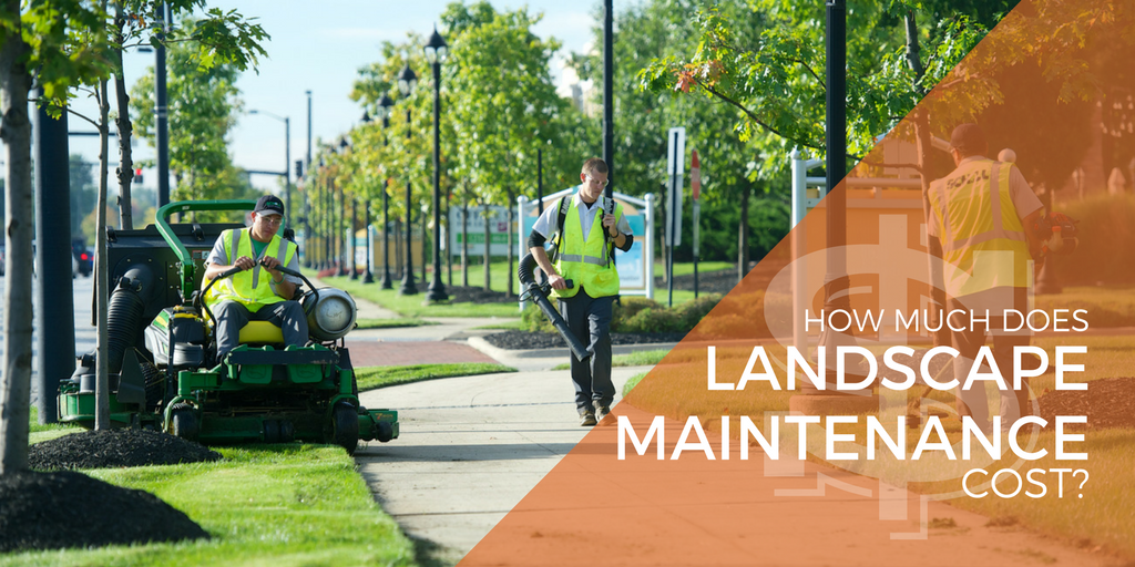 how much does landscape maintenance cost