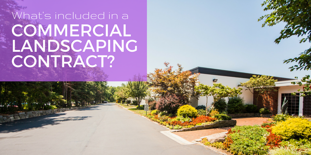 commercial landscaping contract